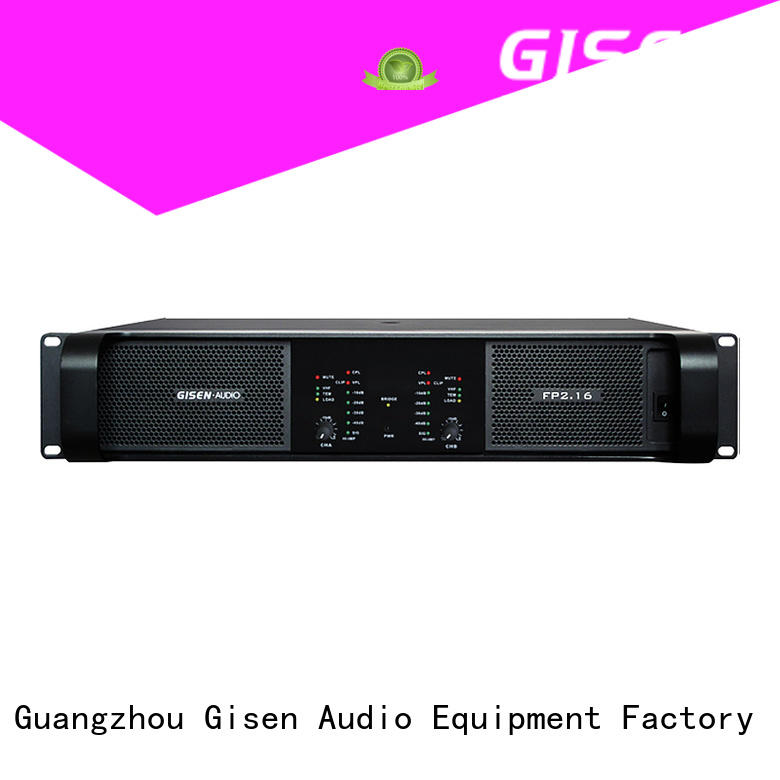 sound power amplifier amplifier for vocal concert Gisen