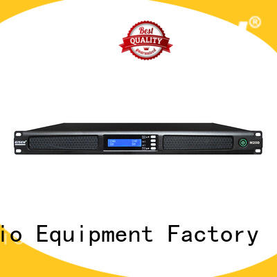 new model 4 channel power amplifier digital series for venue