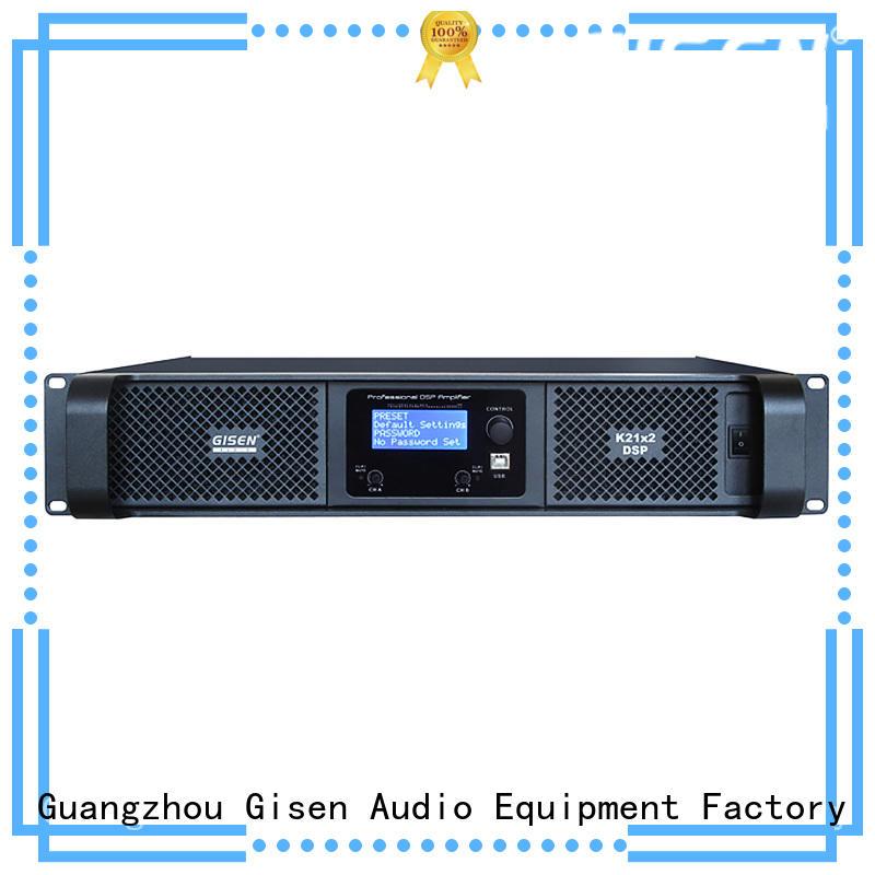 Gisen multiple functions audio amplifier pro wholesale for venue
