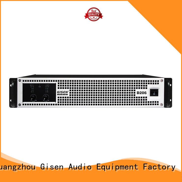 class d digital amplifier 8ohm for entertaining club Gisen