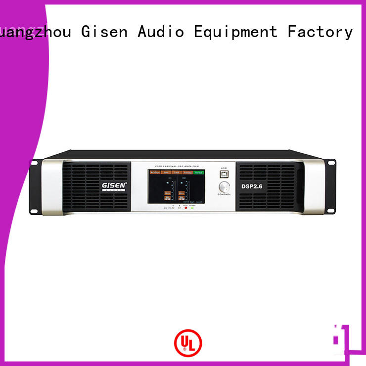 Gisen channel direct digital amplifier supplier for various occations