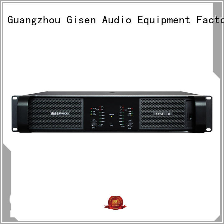 Gisen power music amplifier one-stop service supplier for night club