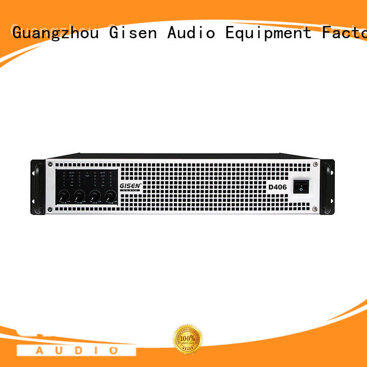 Gisen high efficiency top 10 power amplifiers fast shipping for ktv