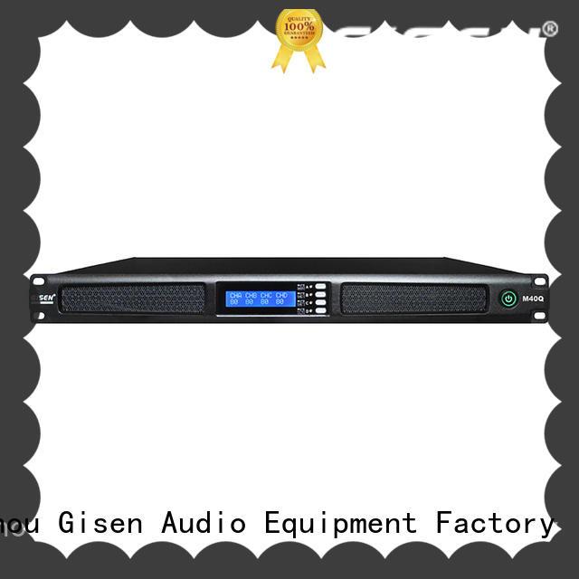 Gisen new model 1u digital power amplifier wholesale for venue