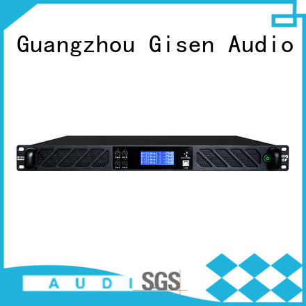 Gisen high quality dj audio amplifier factory
