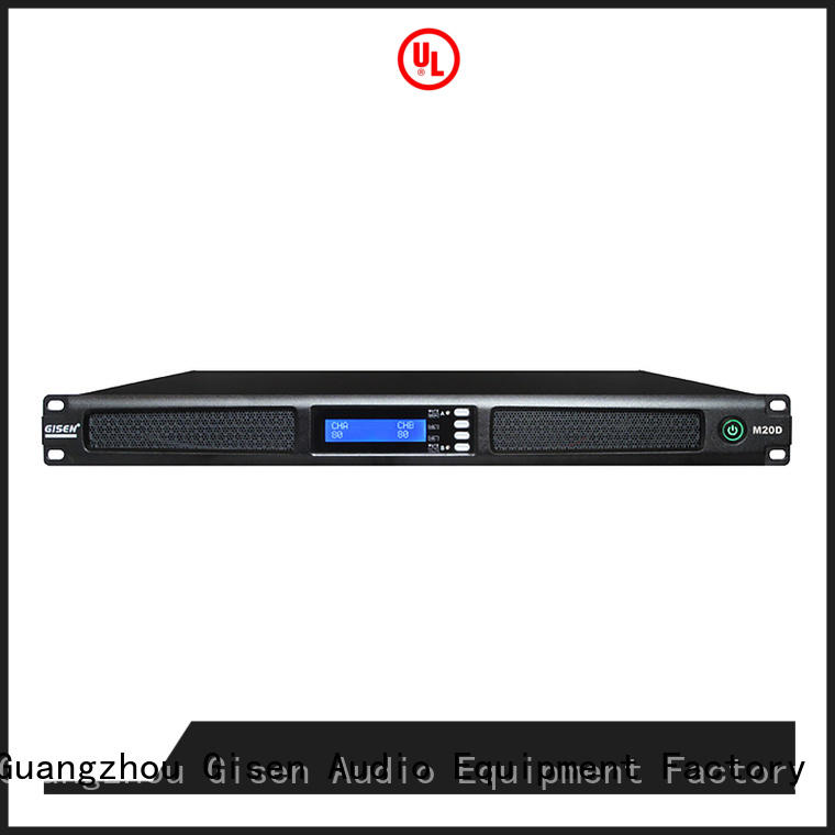 class 1u digital power amplifier manufacturer for entertainment club Gisen