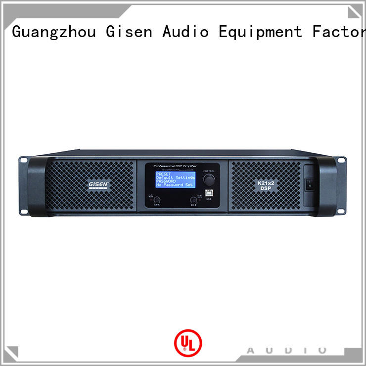 multiple functions best power amplifier in the world 2 channel manufacturer for stage