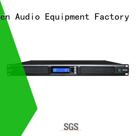 Gisen 4 channel digital amplifier supplier for venue