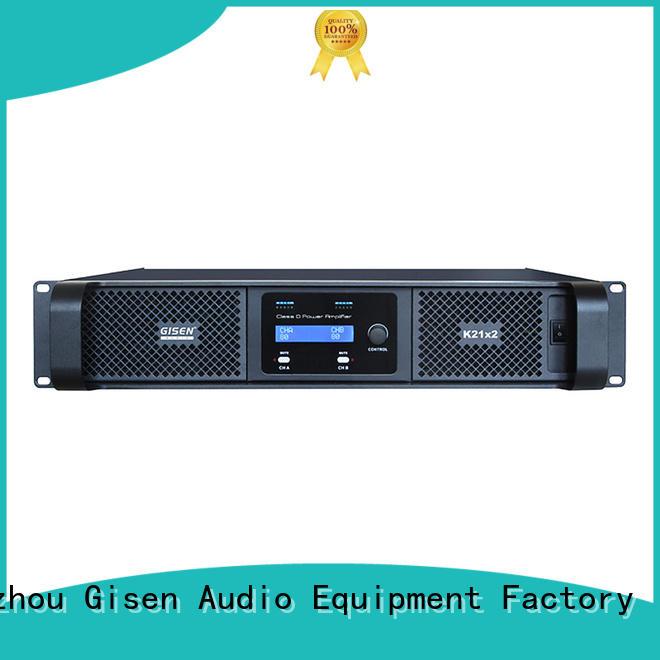 Gisen guangzhou dj amplifier fast shipping for ktv