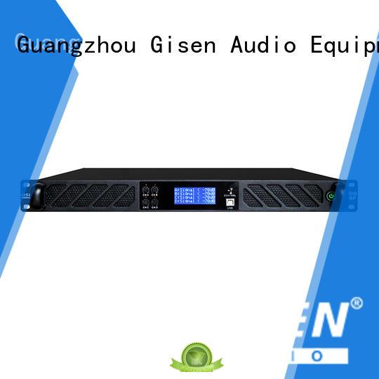 channel digital amplifier audio manufacturer for venue Gisen