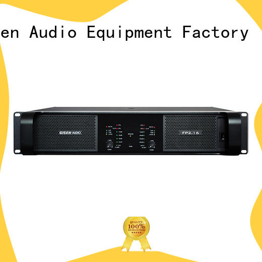 Gisen 4x1300w power amplifier class td source now for ktv