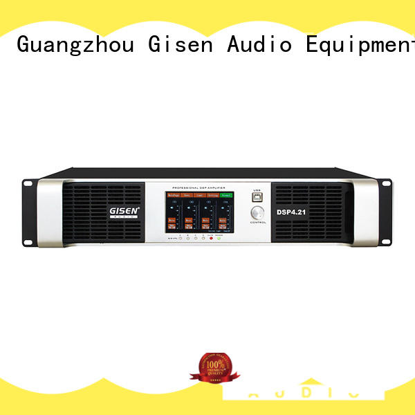 Gisen dsp amplifier sound system supplier for various occations