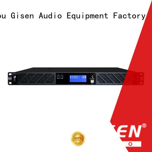 Gisen 1u amplifier sound system manufacturer for venue