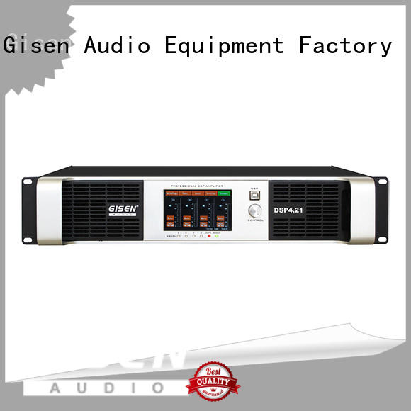 Gisen 2100wx2 dsp amplifier wholesale for performance