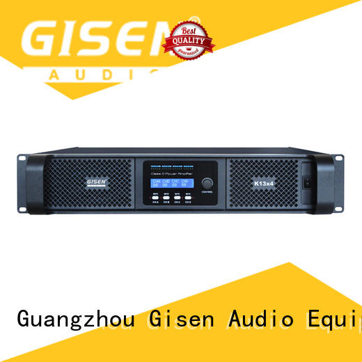 Gisen professional type d amplifier supplier for performance
