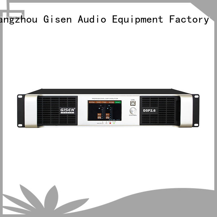 Gisen high quality best power amplifier in the world supplier for various occations