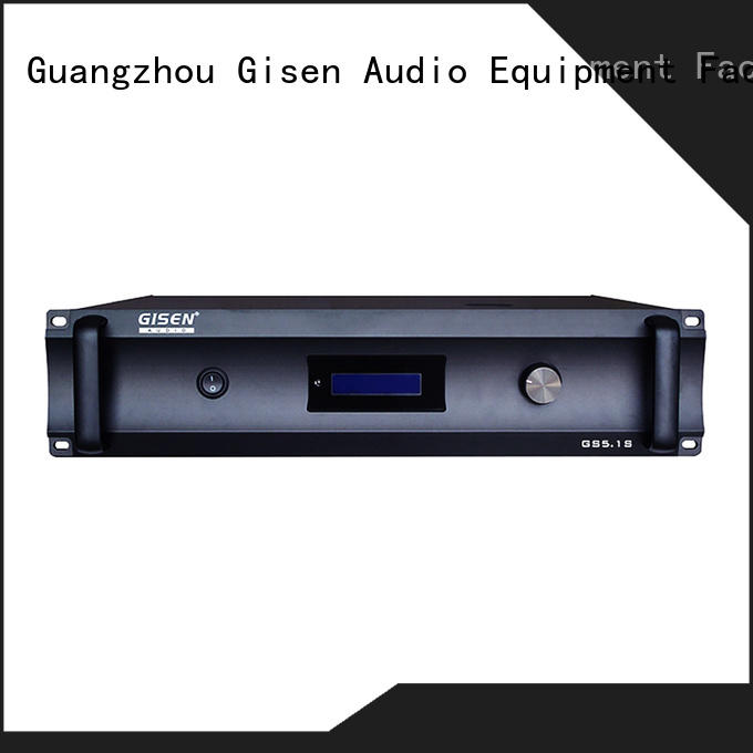 Gisen home home theatre power amplifier great deal for private club