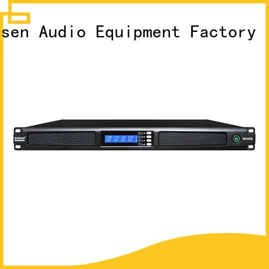 Gisen new model digital amplifier series for performance