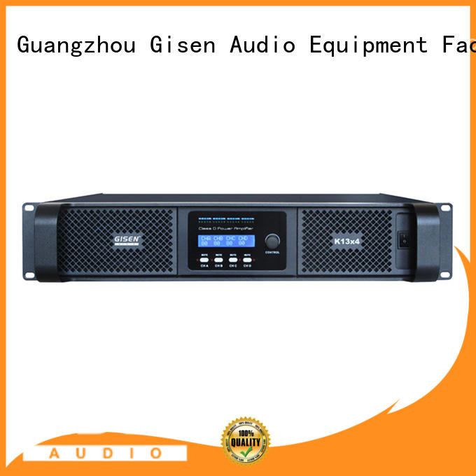 Gisen guangzhou digital audio amplifier manufacturer for entertaining club