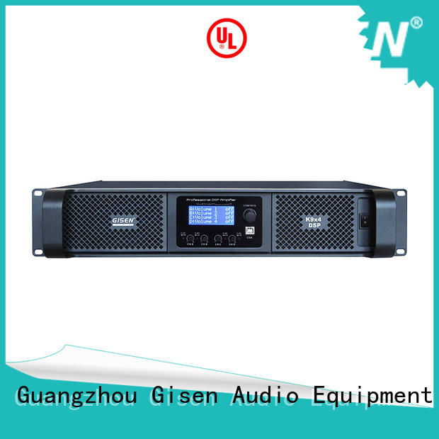 Gisen multiple functions studio amplifier manufacturer for venue
