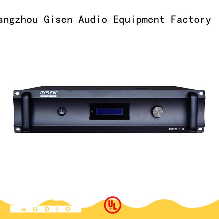 Gisen theatre best home audio amplifier exporter for indoor place