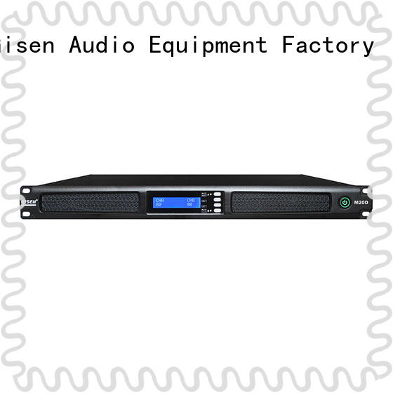 Gisen 2channel digital power amplifier manufacturer for performance