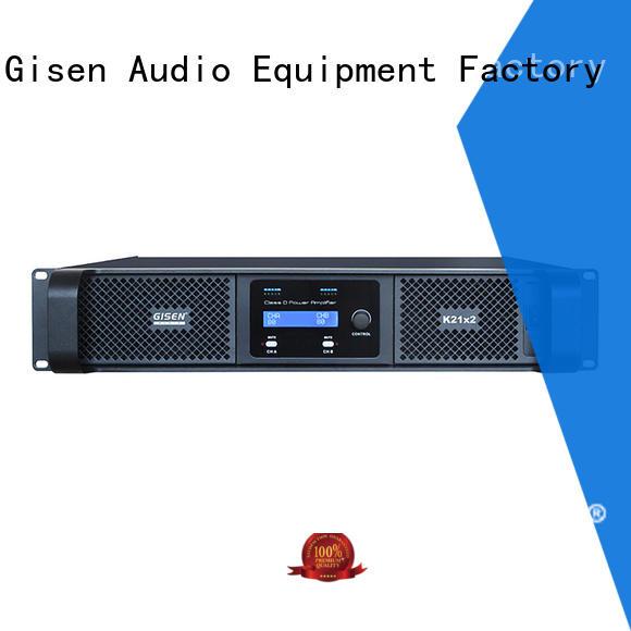 High power amplifier class d full range amplifier 2100WX2@ 8ohm