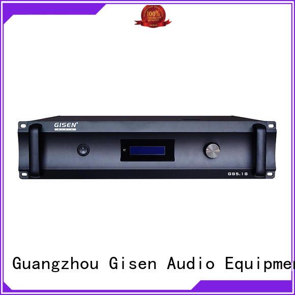 Gisen oem odm best home theater amplifier fair trade for ktv
