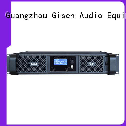 Gisen professional multi channel amplifier wholesale for stage
