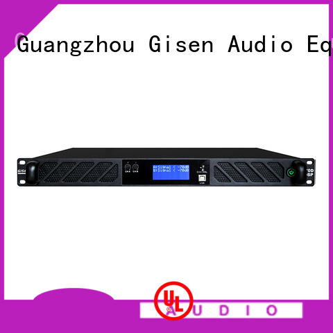 Gisen high quality dj power amplifier manufacturer for venue