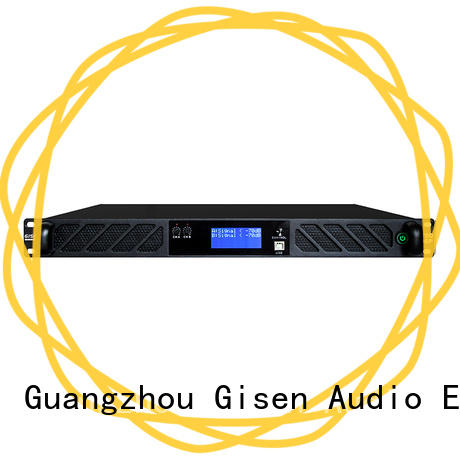 Gisen 2100wx2 direct digital amplifier factory for venue