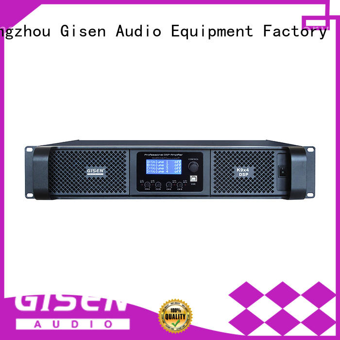 Gisen dsp studio amplifier factory for stage