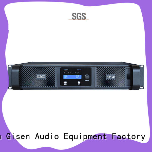 Gisen 2100wx4 class d amplifier manufacturer for performance