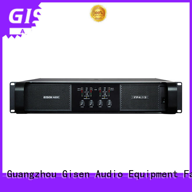 Gisen quality assurance stereo power amp one-stop service supplier for various occations