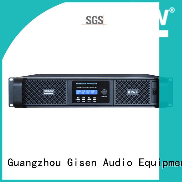 power class d amplifier 2100wx2 for ktv Gisen