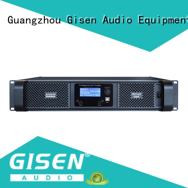 Gisen german studio amplifier manufacturer for stage