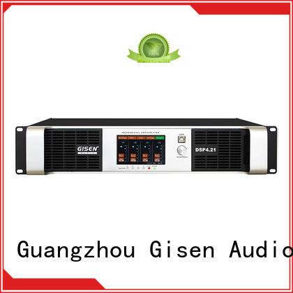 Gisen professional dj power amplifier wholesale for venue