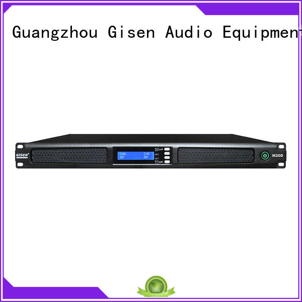 Gisen 4 channel home amplifier series for venue