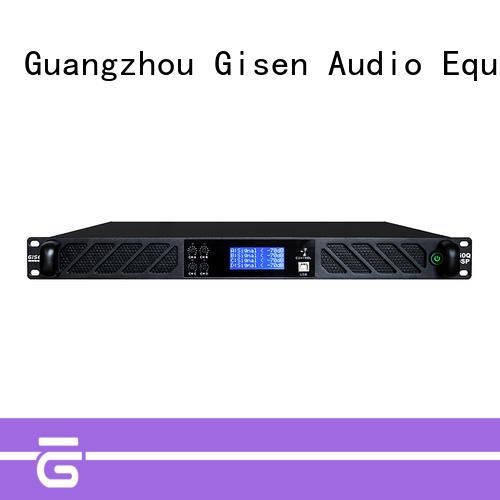 Gisen digital dj power amplifier supplier for venue