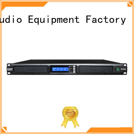 Gisen new model 1u 4 channel amplifier power for performance