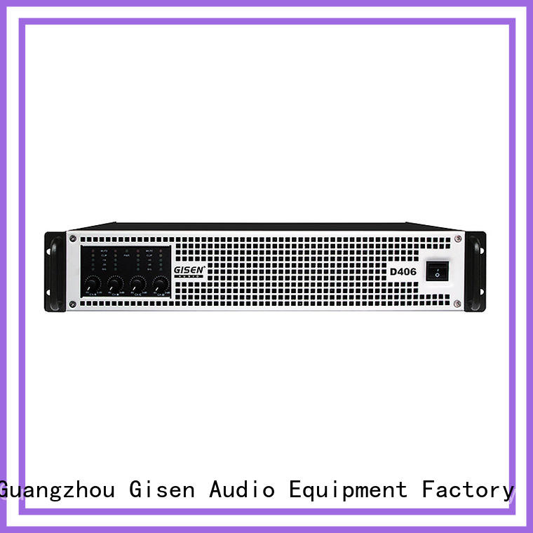 Gisen 2100wx2 top 10 power amplifiers fast delivery for ktv
