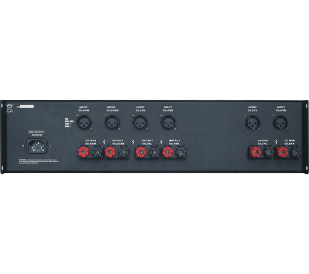 Home theatre digital power amplifier-3