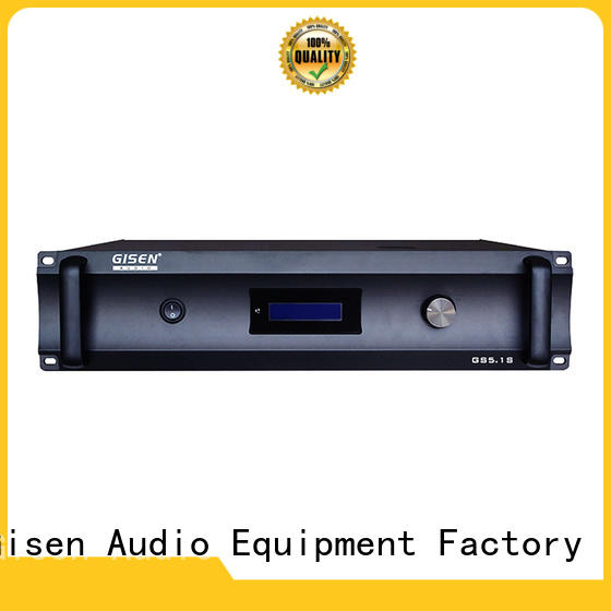 Gisen low distortion surround sound amplifier order now for private club