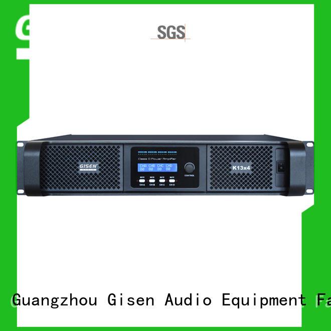 Gisen high efficiency hifi class d amplifier supplier for stadium