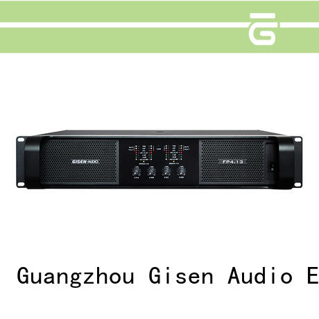 Gisen power home audio amplifier one-stop service supplier for performance