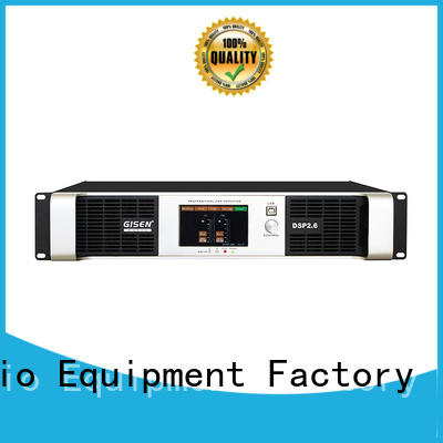 Gisen multiple functions dj power amplifier supplier