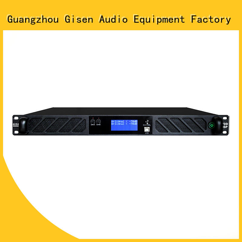 high quality studio amplifier 1u supplier for stage