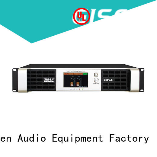 Gisen 2100wx2 best power amplifier in the world wholesale for performance