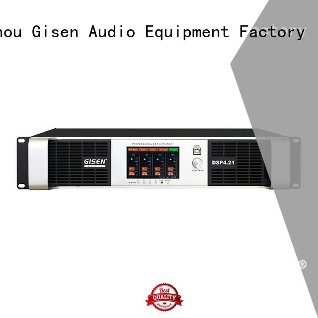 Gisen amplifier desktop audio amplifier supplier