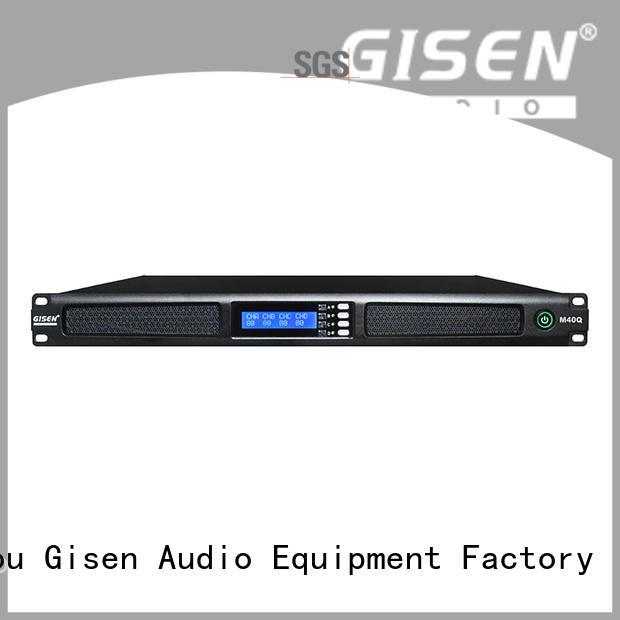 Gisen new model digital power amplifier supplier for performance